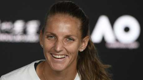 Karolina Pliskova called the victory over Williams the biggest of her career. Picture: AP