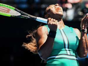Serena in shocking Open choke