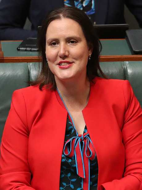 The abuse directed at Kelly O'Dwyer is indicative of the state of politics for women. Picture: Kym Smith