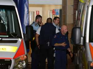 Woman allegedly stabbed man in hospital triage