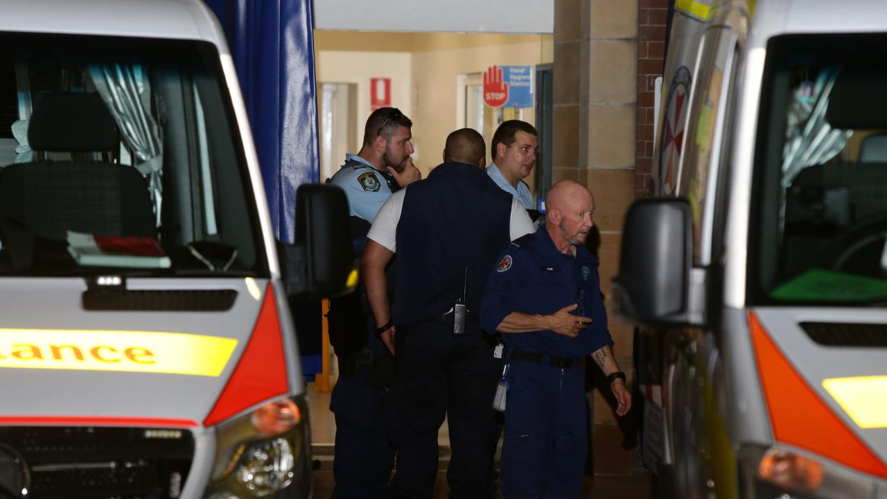 A woman allegedly lunged out at a male and stabbed him during a frenzied attack. Picture: Bill Hearne