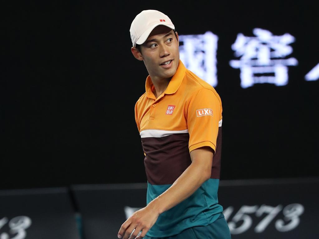 Kei Nishikori.