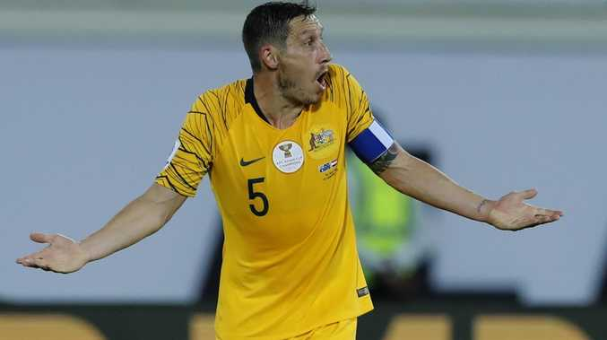 Mark Milligan said the surface the Uzbekistan game was a 'concrete carpark'.
