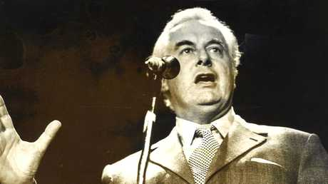 Gough Whitlam in 1973.