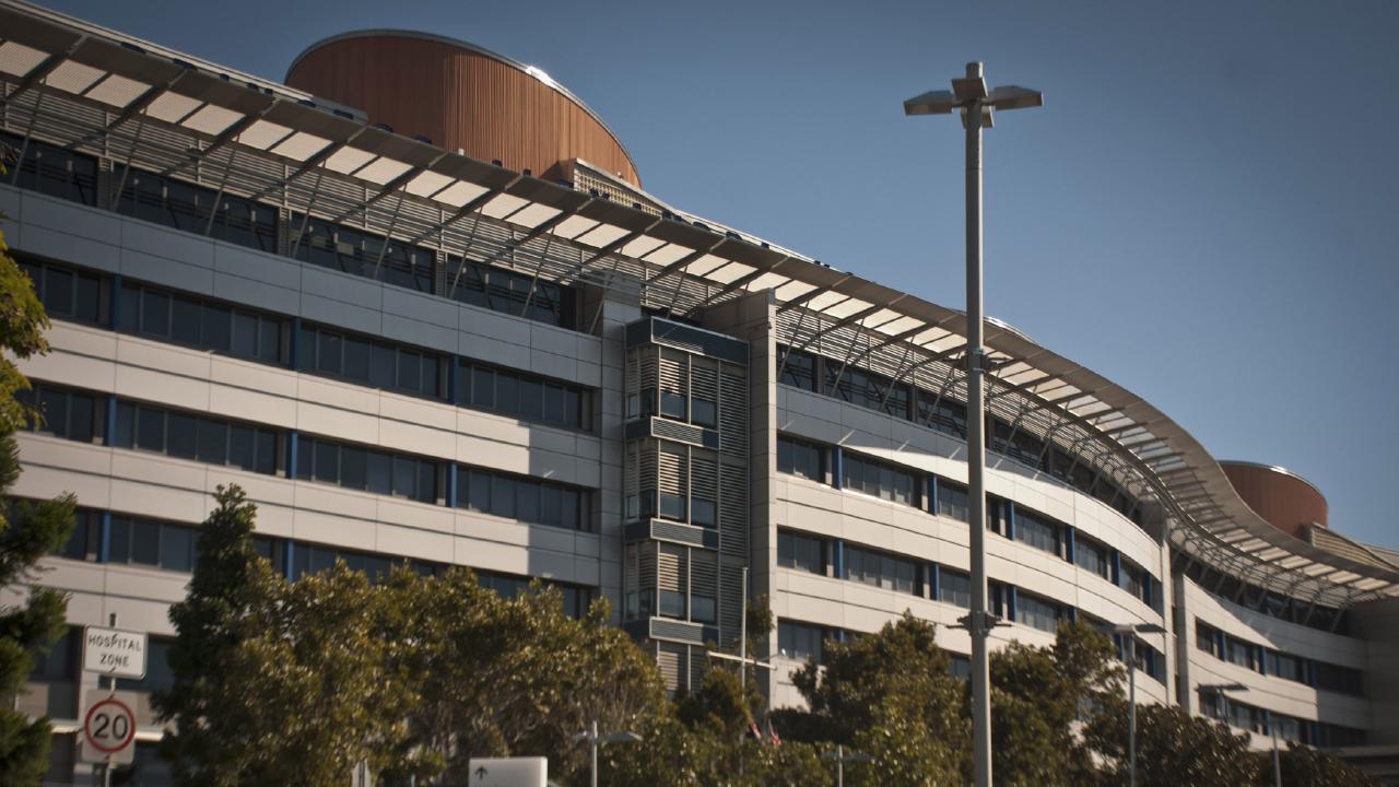The Princess Alexandra Hospital. Picture: AAP Image/Robert Shakespeare
