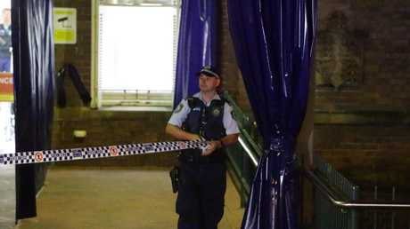 RPA Hospital became a crime scene. Picture: Bill Hearne