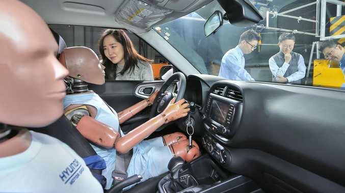 Hyundai has developed new multi-collision airbag technology.