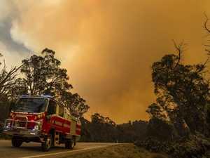 PREPARE TO LEAVE: Bushfire in border territory intensifies