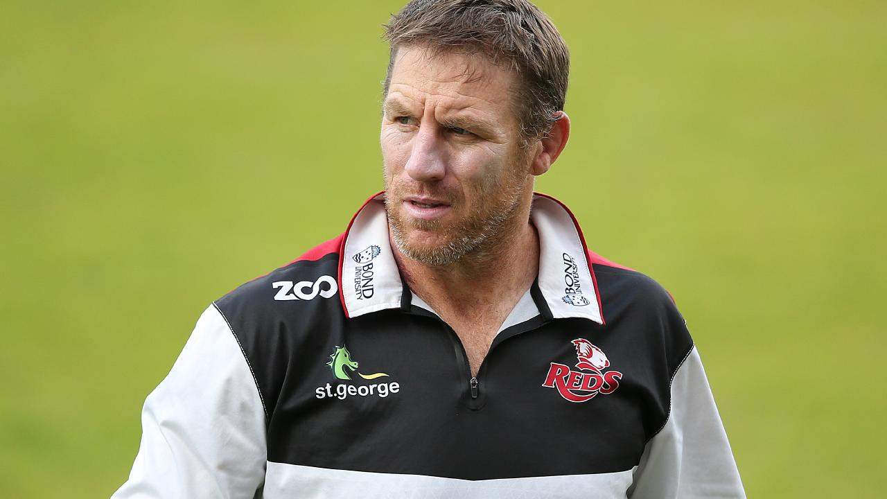 Thorn is determined to instill a hared edge to the Reds defence. (AAP Image/Jono Searle)