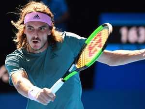 Greek freak ready to take down another tennis giant