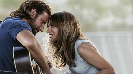 Bradley Cooper and Lady Gaga in A Star Is Born. Picture: Warner Bros Pictures via AP