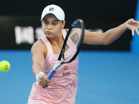 Ash Barty had a heck of a tournament.