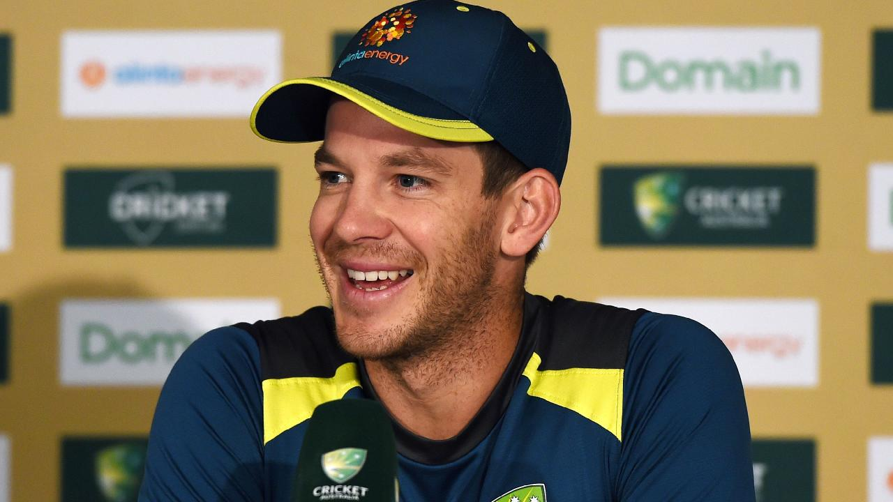 Tim Paine is hoping for a fast Gabba wicket for the first Test.