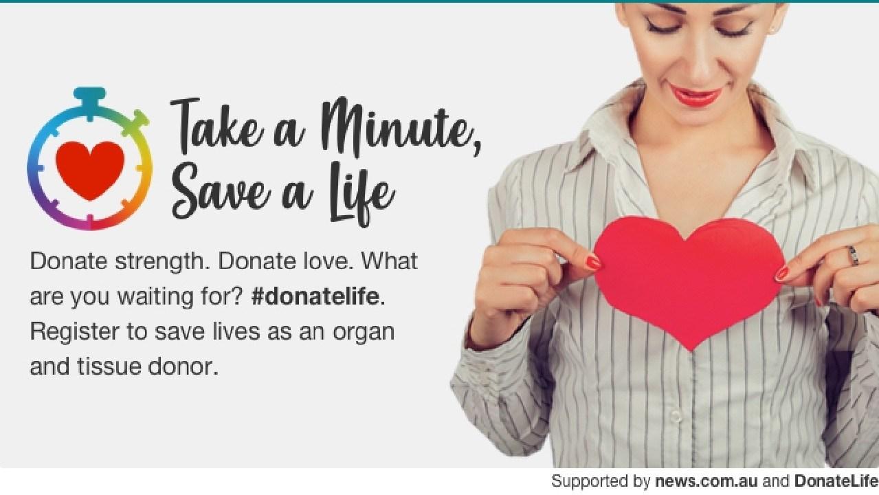 Take a Minute, Save a Life.