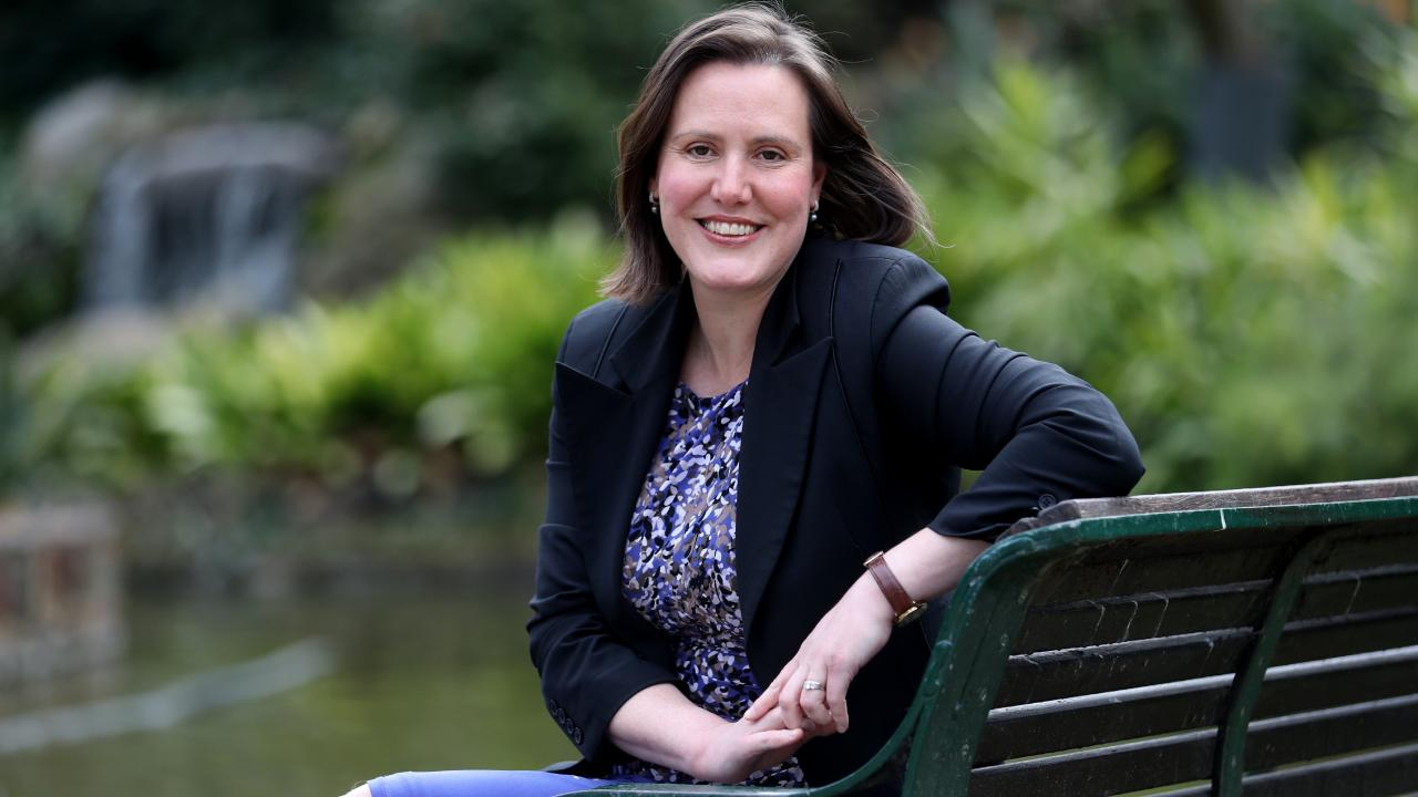 Immediately after announcing she was exiting politics, Kelly O'Dwyer was inundated with horrific abuse on social media. Picture: David Geraghty