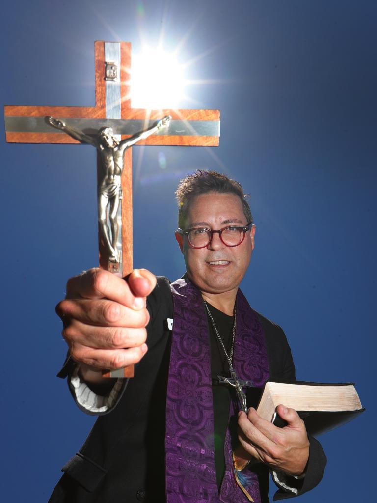 Rev John Gill. Picture Glenn Hampson
