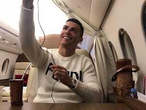 Ronaldo slammed for selfie after star's disappearance