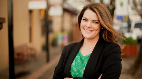 Sarah Hanson-Young said rape threats are a common occurrence for women in politics. Picture: Dean Holland