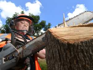 First 'ladies only' chainsaw course roars into region