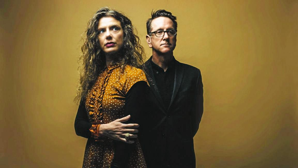 INTIMATE PERFORMACE: Kristin Berardi and James Sherlock are highly regarded in the jazz world. A highlight of their career was a performance at the Montreaux Jazz Festival, opening for George Benson and Al Jarreau.