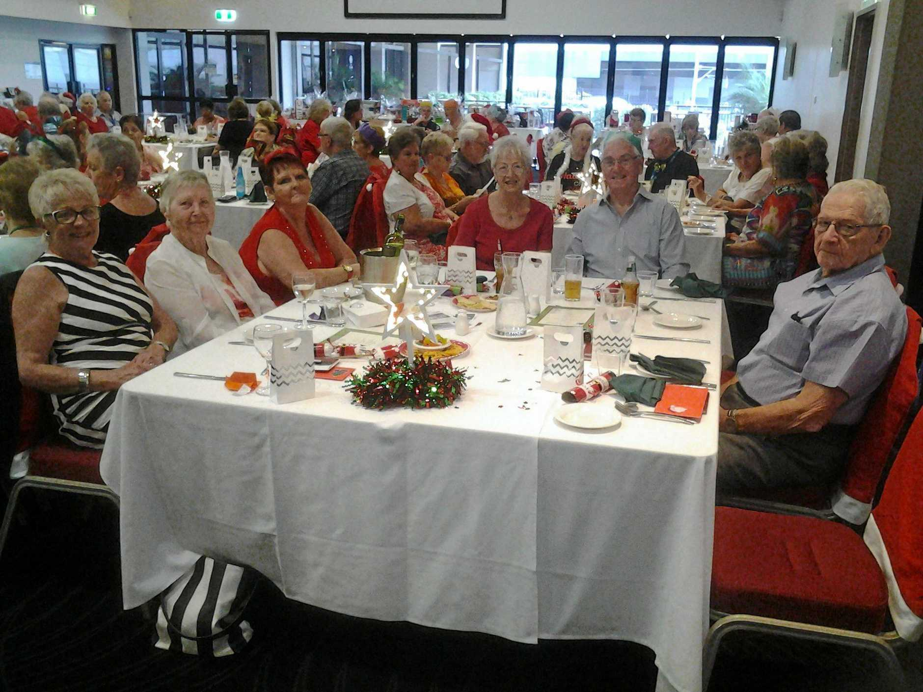 FESTIVE FIFTY CLUB: The Forest Lake Fifty Plus Club enjoyed wonderful Christmas celebrations with members. New members are always welcome, meeting on the third Friday of the month at The Lion, Pine Road, Richlands.