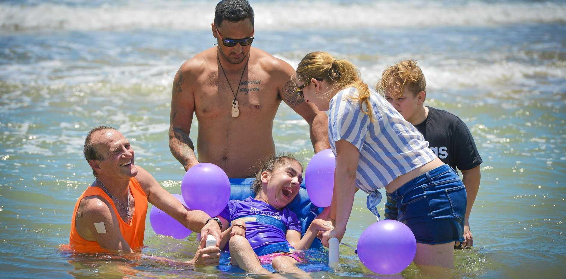 Kevin Jose, Artemis Mainou-Sifoonios, 13, Barry Ria, Kassandra Mainou-Sifoonios and Riley Hermann.