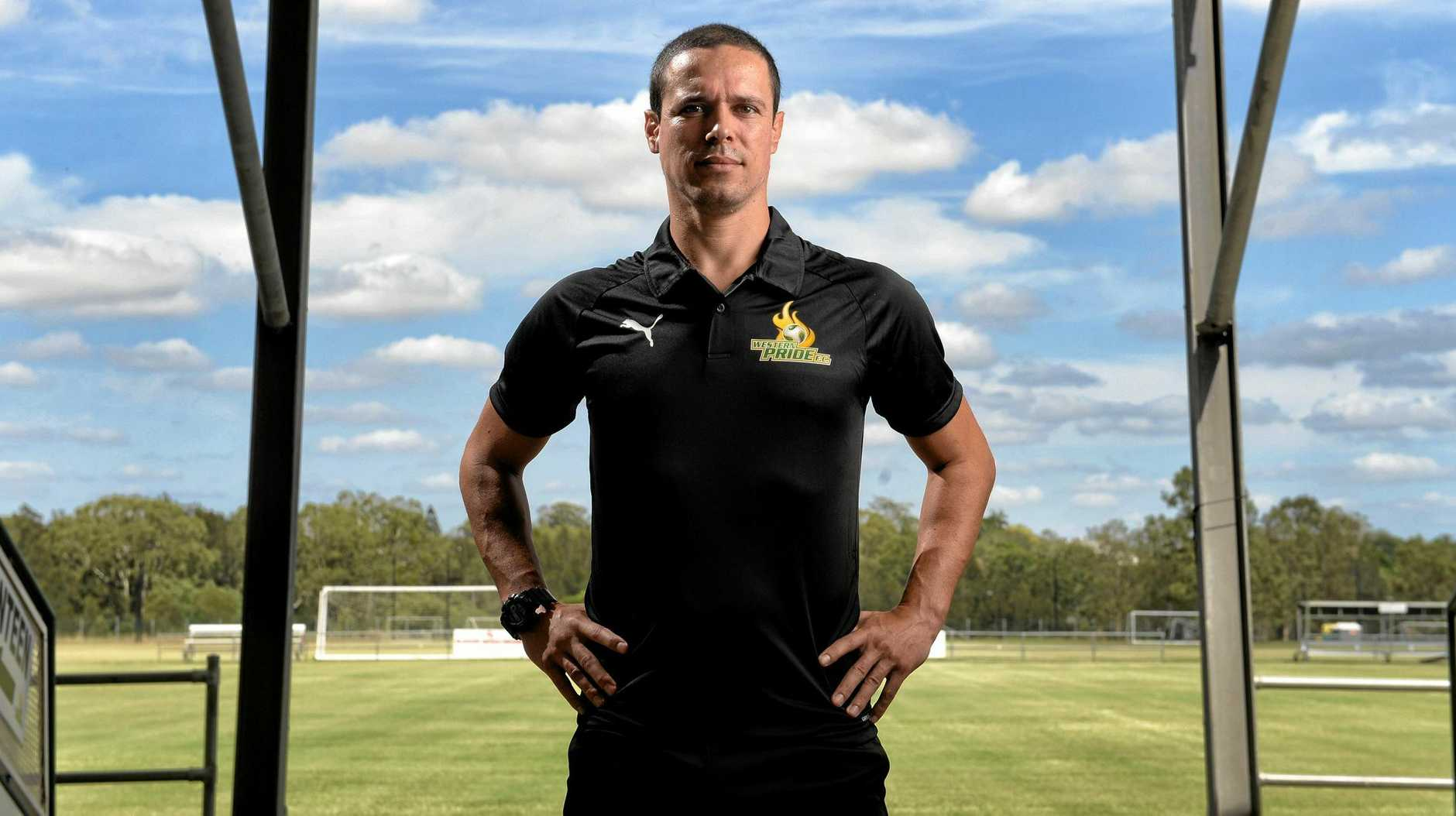 ON TARGET: Sergio Raimundo brings a wealth of experience in Europe and South America to his new role as Western Pride head coach.