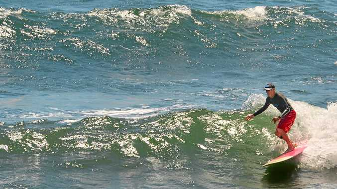 A surfer picks the right tide to make the most of marginal conditions at Alexandra Headland this week. That will be the name of the game this weekend, with light winds and ideal beach conditions but only a small swell.