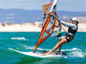 Lea rediscovers joys of racing on water