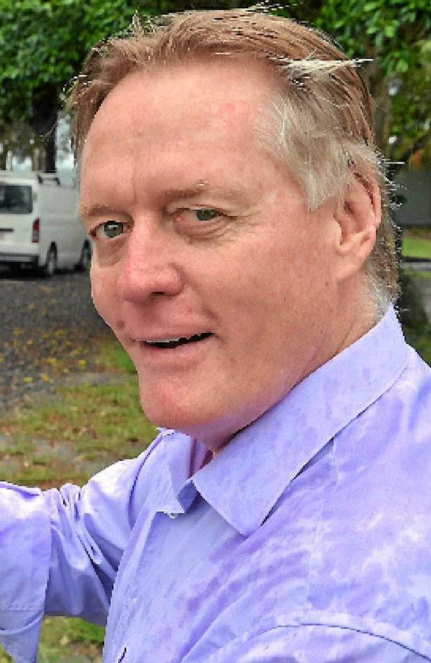 Cr Mark McDonald.