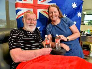 Father and daughter are bloody legends this Australia Day
