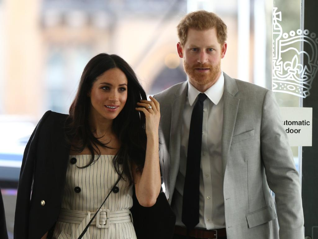 Meghan and Harry are expecting a baby. Picture: Getty Images
