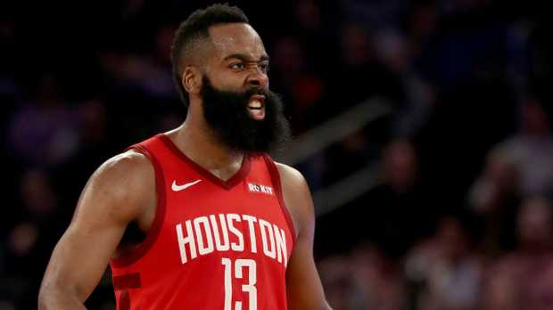 James Harden is using the NBA as his personal playground.