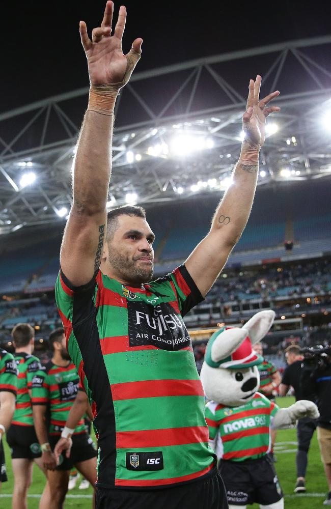 Souths will have to do without Greg Inglis for the whole of the pre-season.