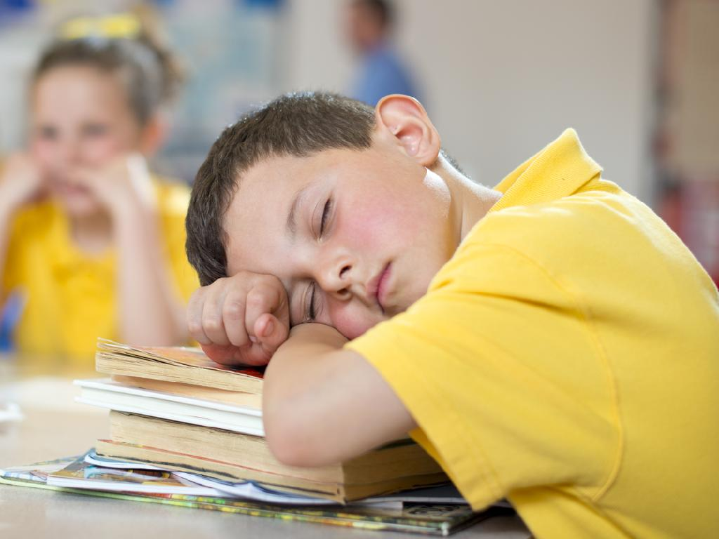 Experts say a good sleep routine is the most important thing for a back-to-school checklist. Picture: iStock
