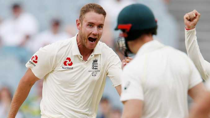 Stuart Broad: the smuggest of smug Poms. (Photo: Michael Klein)