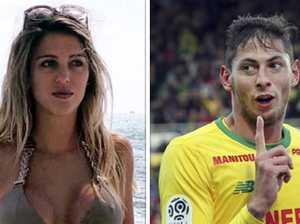 Missing football star's ex-girlfriend makes stunning claim