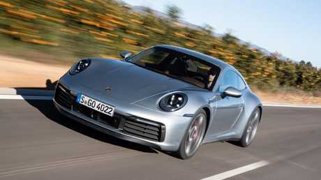 The new 911 is faster than before.
