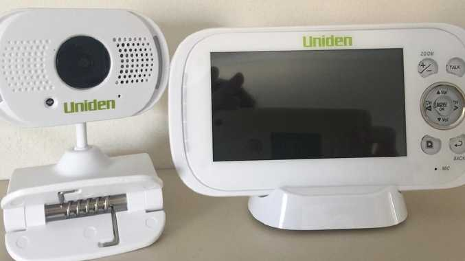 The baby monitor allows parents to view live film of their children from anywhere they wish.