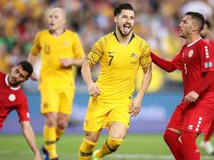Leckie break as Socceroos star in starting mix