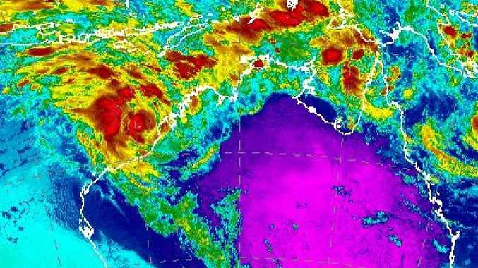 Cyclones are threatening both Queensland and WA in the coming days. Picture: Supplied