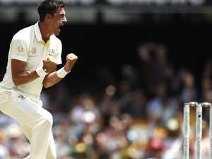 Starc matches greats with entry into 200 club