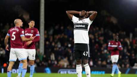 Aboubakar Kamara of Fulham reacts