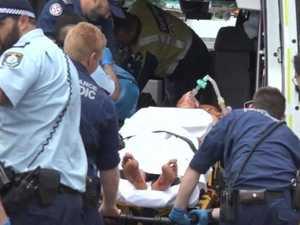 Three injured in horrific dog attack