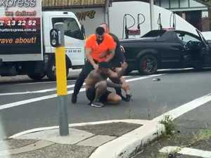 Road rager defends shocking brawl