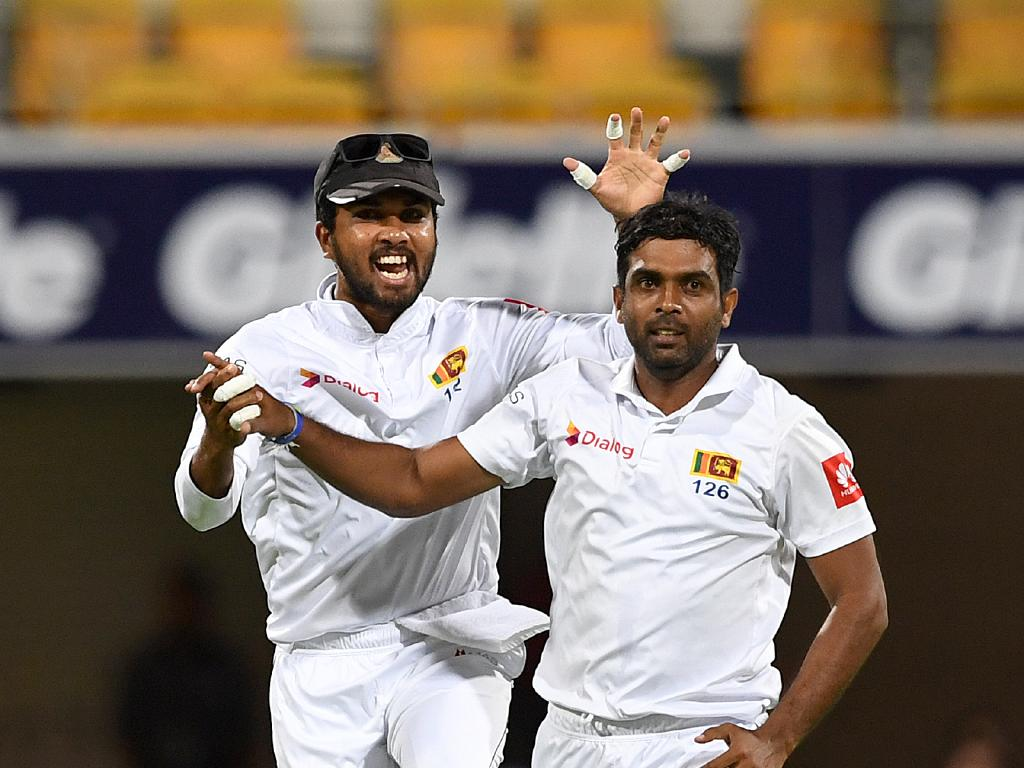 Sri Lanka needed something to cheer about.