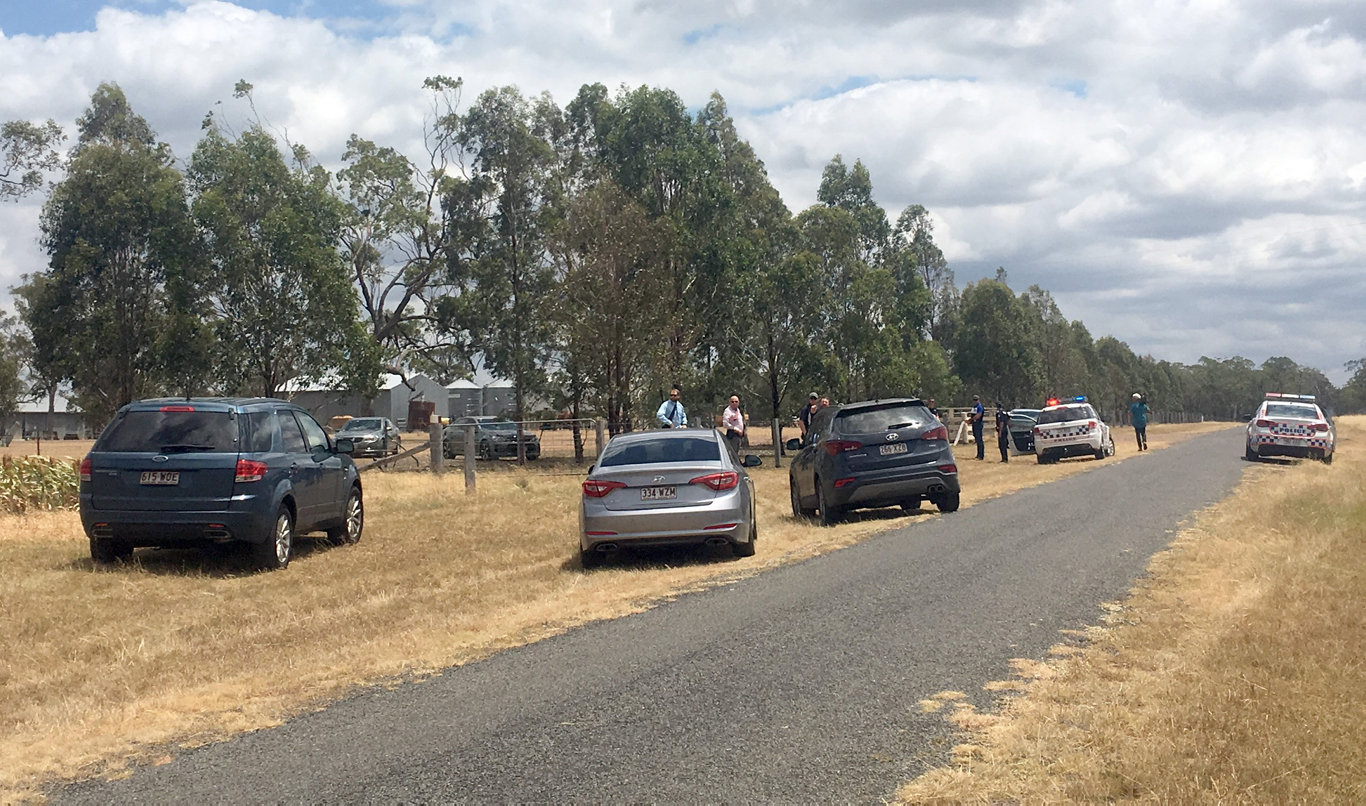TWO men are in police custody after a second Toowoomba home was targeted by armed thieves this morning.