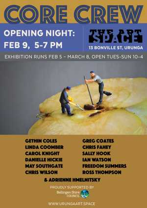 A new exhibition at The Art Space Urunga