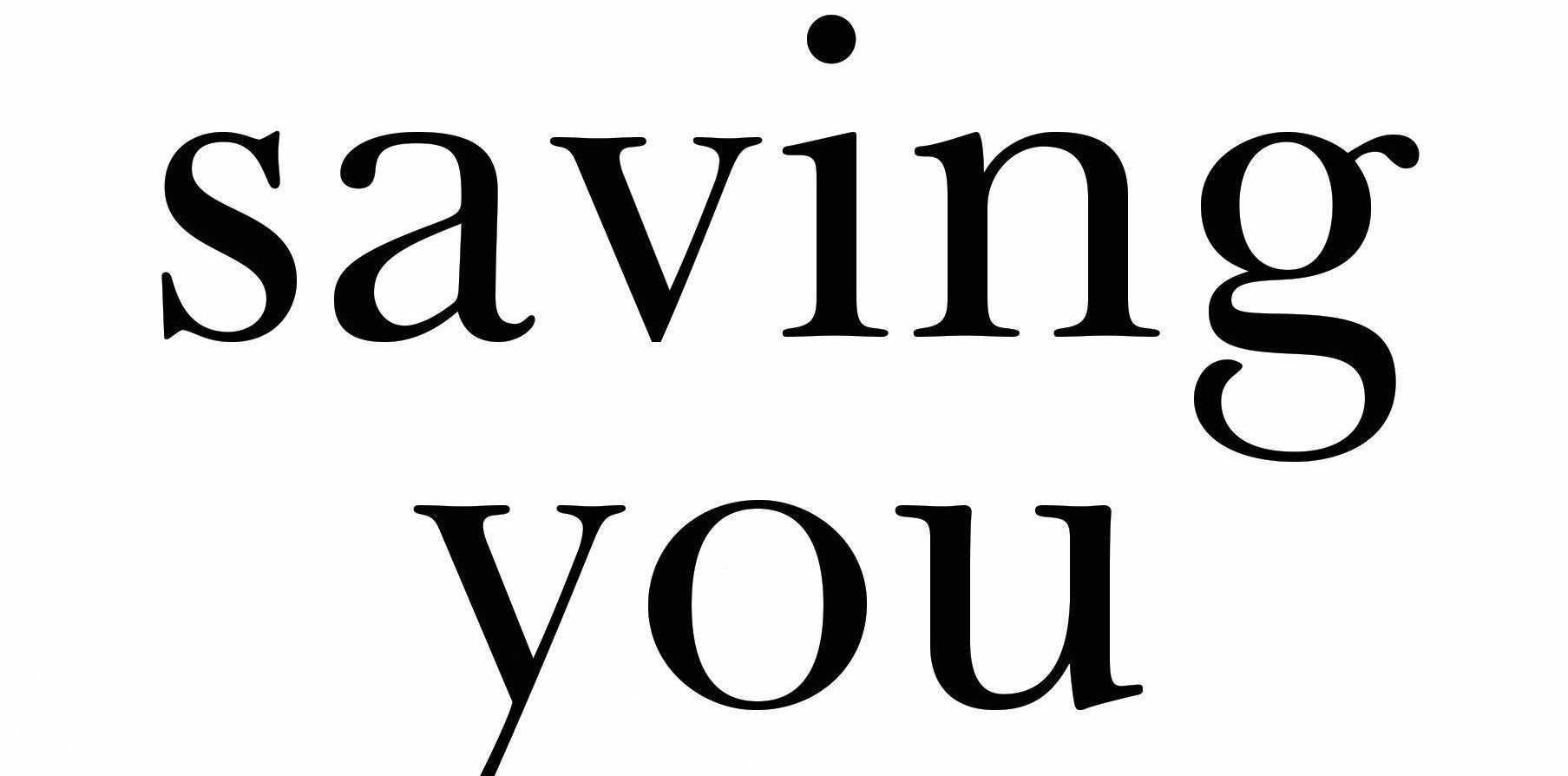 NEW BOOKS: Charlotte Nash's new book, Saving You.