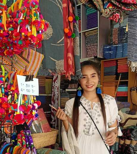BANGKOK SURPRISE: Fai the Thai from Chang Mai at Chatachuk Markets.